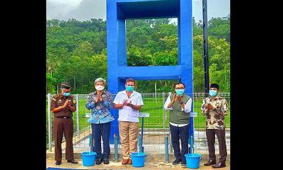 Bupati Badrut Tamam Resmikan Program CSR di Desa Pamoroh Pamekasan