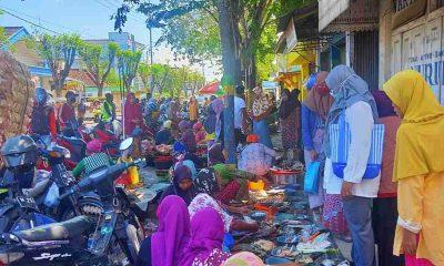 Pedagang 'Pasar Kaget' Ramadan Pamekasan Alami Penurunan Omzet